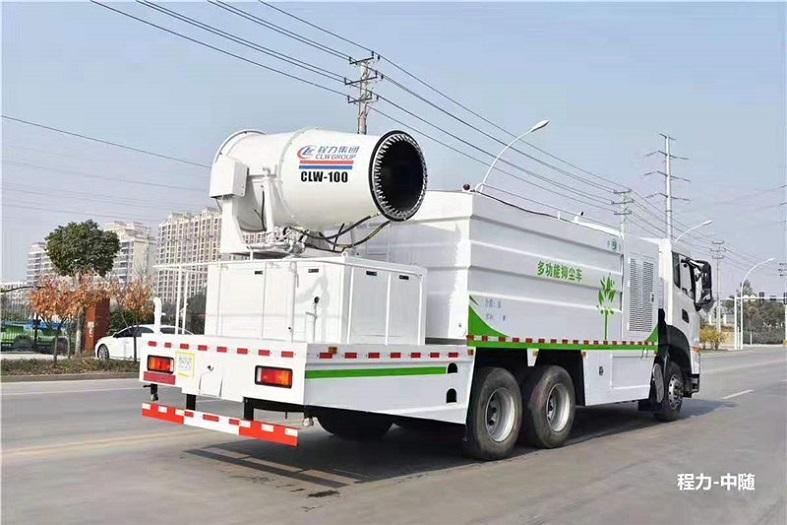 东风天龙16吨(方罐)多功能抑尘车国六