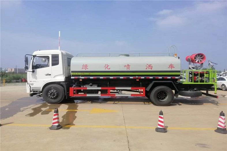 东风天锦12吨喷雾车国六绿化喷洒车
