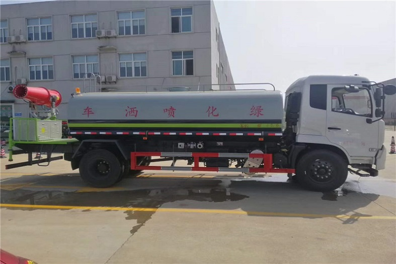 上海东风天锦12吨喷雾车国六绿化喷洒车