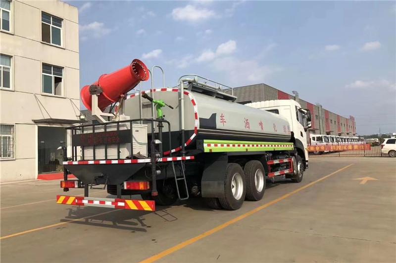 东风天龙后八轮20吨喷雾车,国六绿化喷洒车