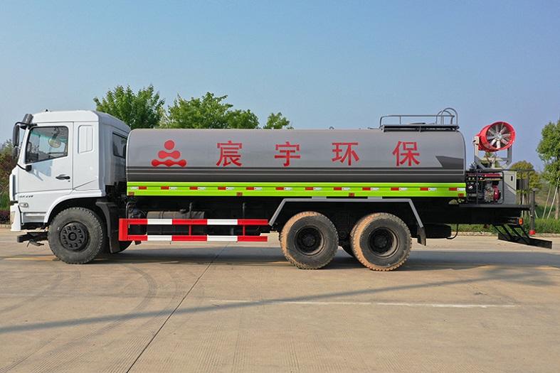 东风D3L后八轮20吨喷雾车