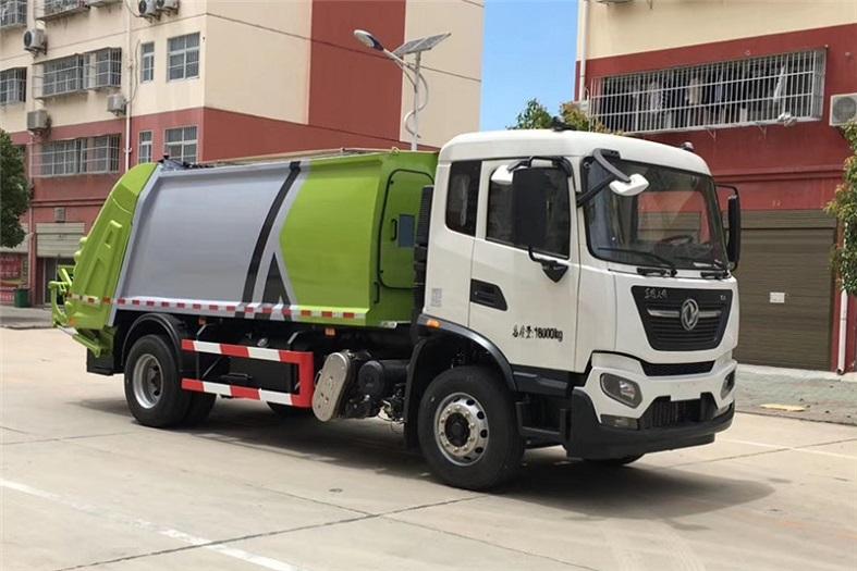 东风天锦12-14方高端压缩垃圾车