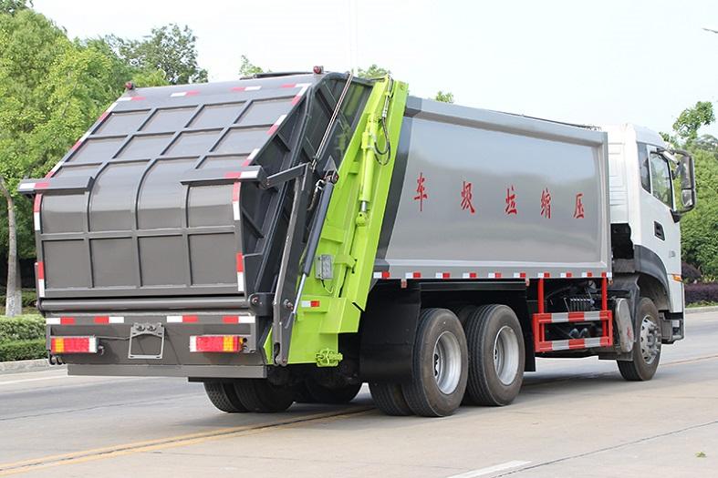 东风天龙18-20方压缩垃圾车国六