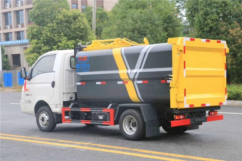 凯马5方侧装压缩垃圾车