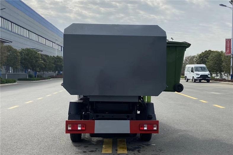 长安3方侧装挂桶垃圾车国六