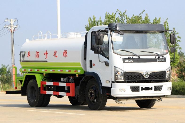 东风大福瑞卡9.2吨洒水车国六