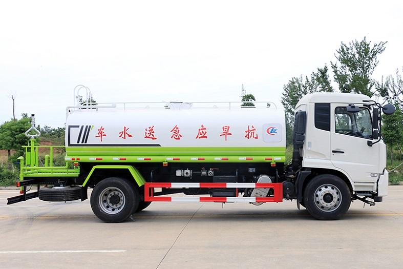 东风天锦14吨洒水车国六