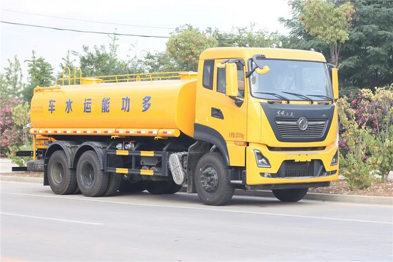 环亚天龙后八轮20吨洒平台国六