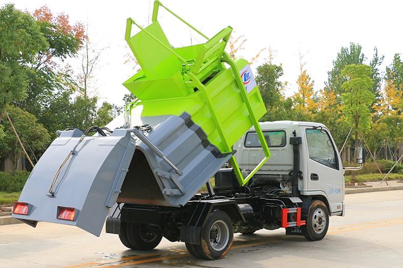 凯马3方餐厨垃圾车国六