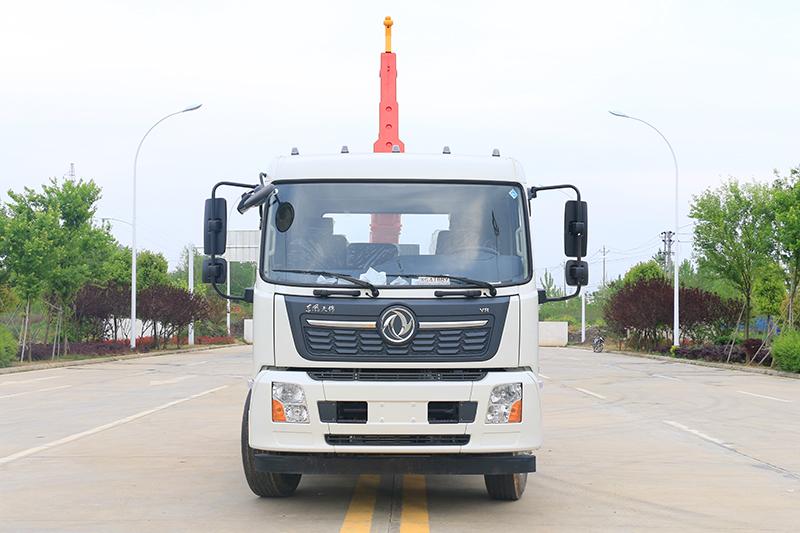 东风天锦15吨套臂垃圾车
