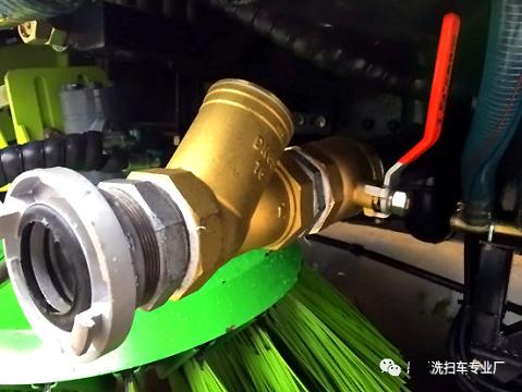 铜质球阀加水滤器