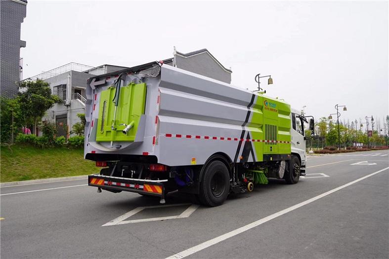 东风天锦16吨(9水/7尘)洗扫车
