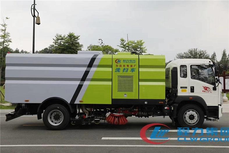 重汽豪沃16方(9水/7尘)洗扫车