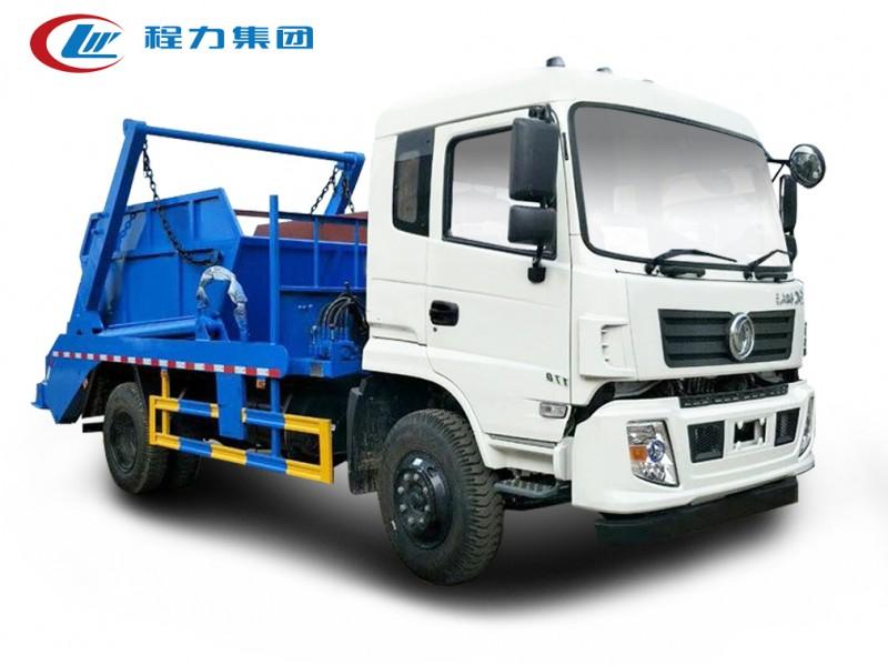 重庆东风专底10方摆臂垃圾车