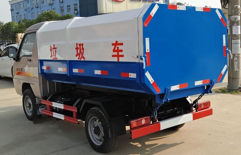凯马3方挂桶垃圾车