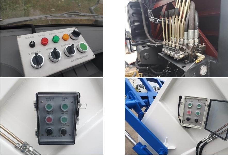 后装压缩式垃圾车PLC控制器