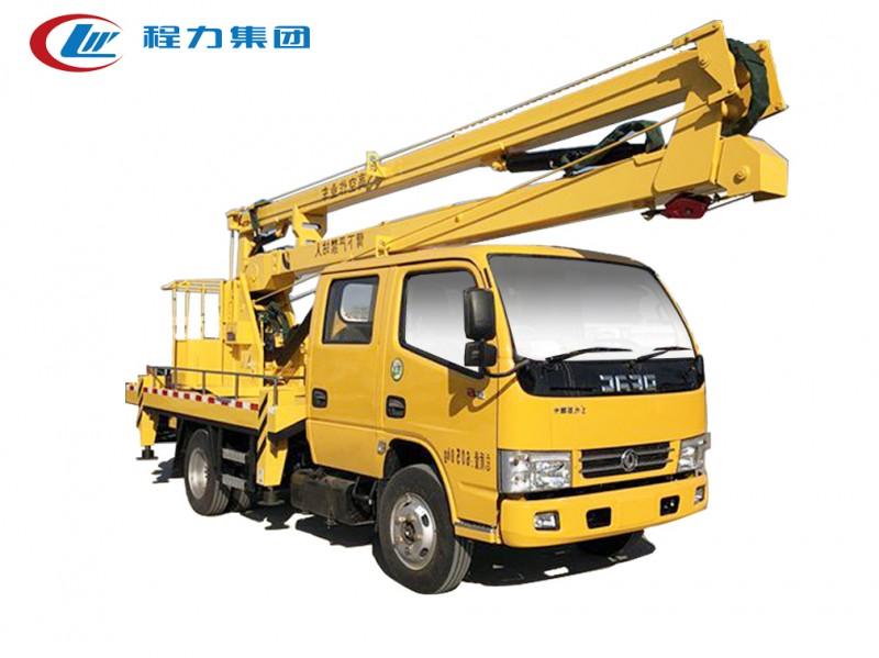 东风多利卡双排14米高空作业车