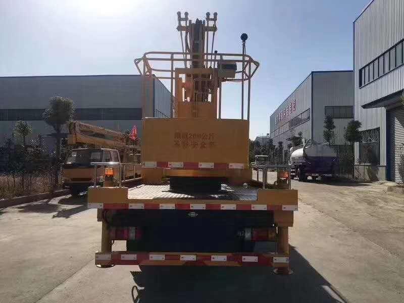 五十铃双排座14米高空作业车