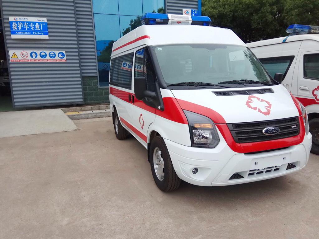 福特新世代V348短轴柴油备用型
