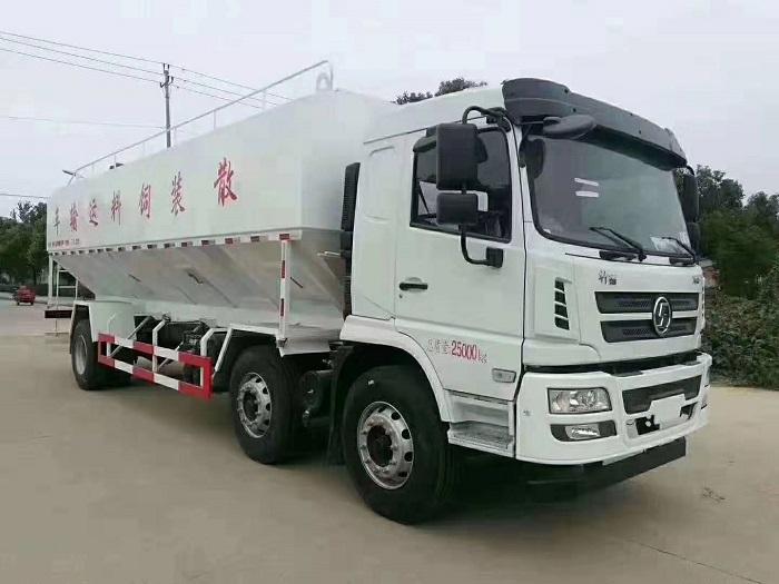 陕汽轩德X6小三轴30(15吨)立方