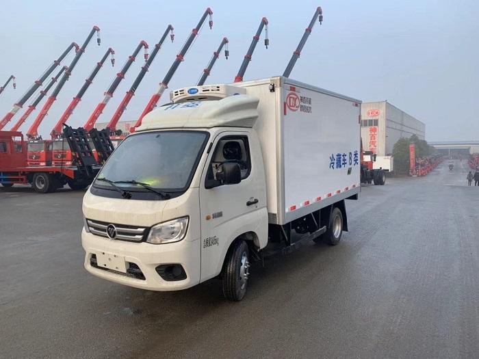 国六福田祥菱M1小型冷藏车