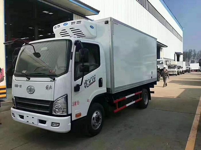 解放虎VH蓝牌4米2冷藏车