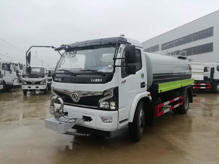 东风福瑞卡9.2方洒水车国六价格12.8万