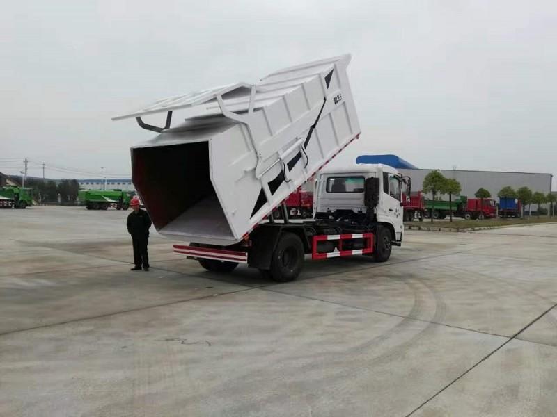 东风天锦对接式垃圾车