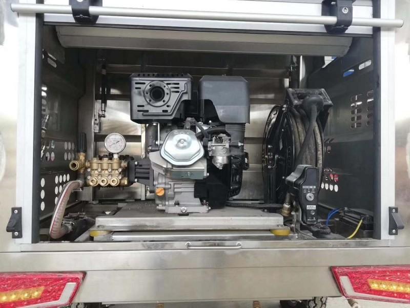 电动三轮清洗车