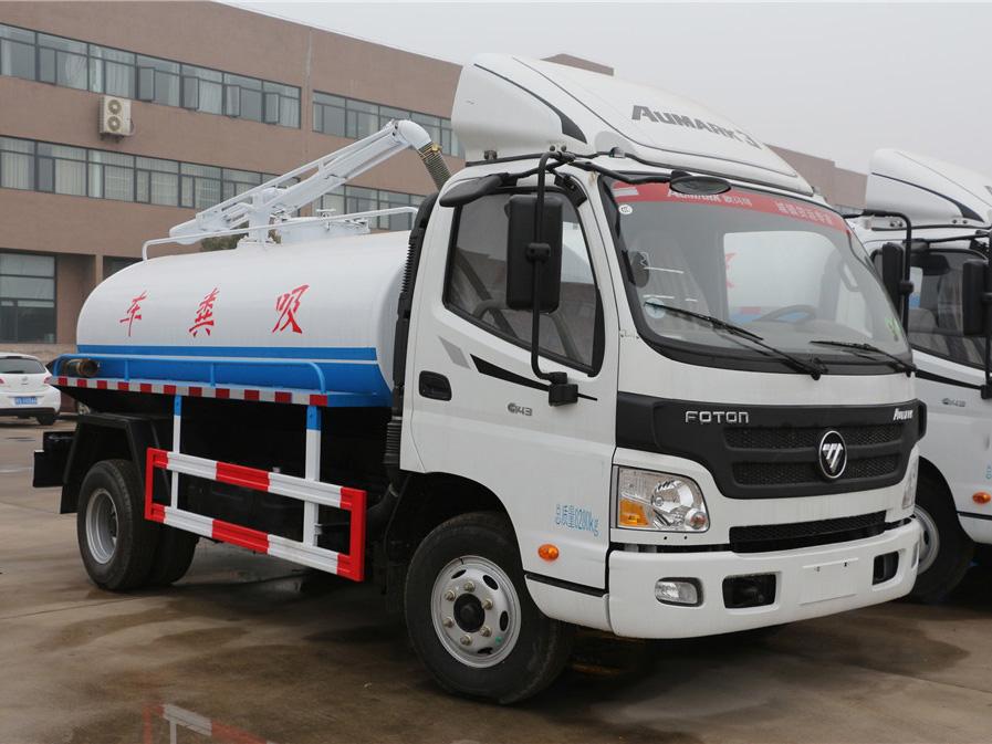 福田欧马可(6方)CLW5080GXEB5吸粪车车型简介