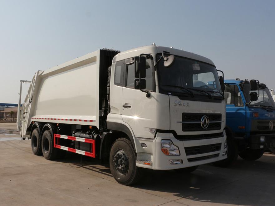 东风天龙(18方)CLW5251ZYSD5  压缩式垃圾车车型简介