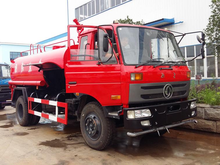 东风145(12方)CLW5161GSSE5型消防备用车车型简介