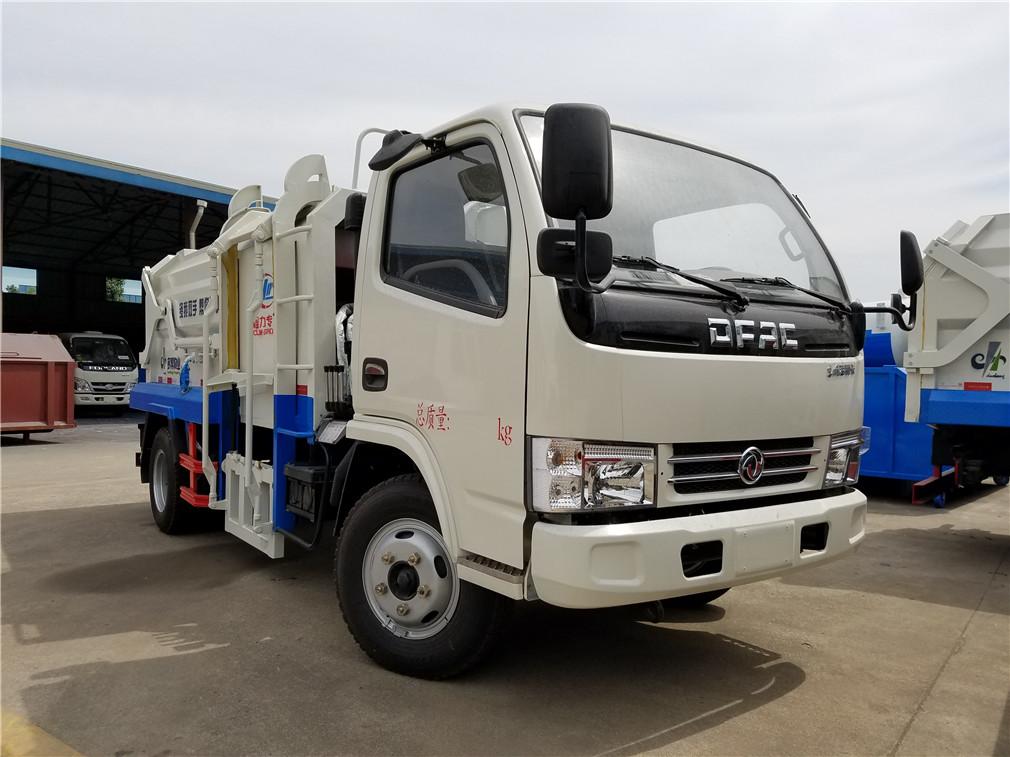 东风多利卡(5方)CLW5070ZDJD5侧装压缩式垃圾车车型简介