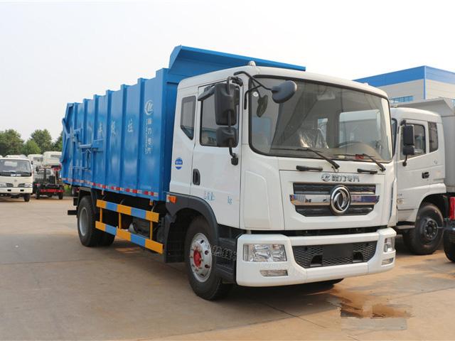 东风多利卡D9(12方)CLW5160ZDJD5对接式垃圾车车型简介