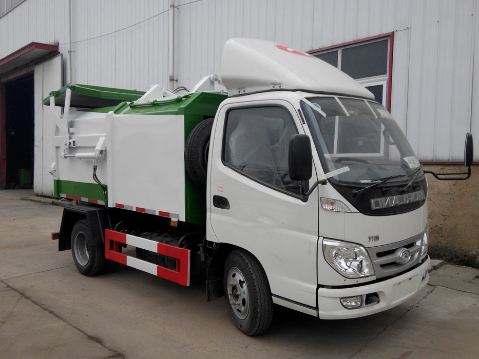 福田小卡(3方)JHW5040ZDJB5侧装压缩式国际车型简介