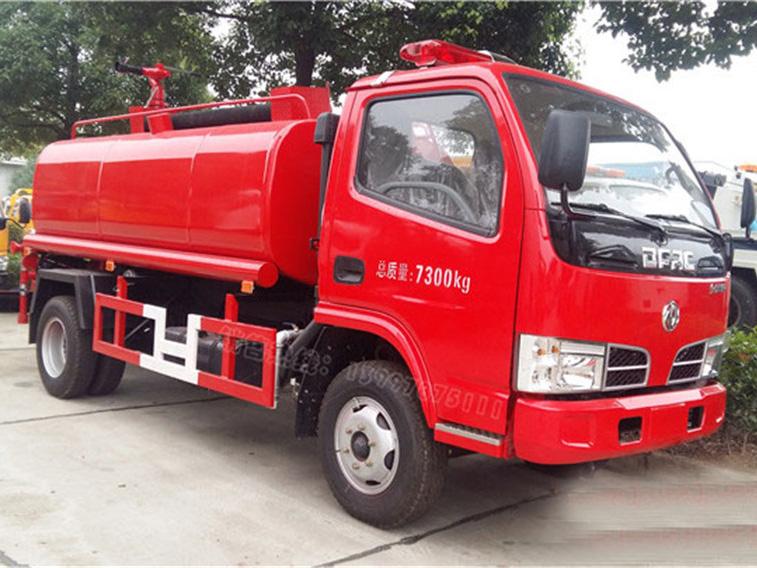 东风多利卡(5方)CLW5070GSSD5消防备用车车型简介