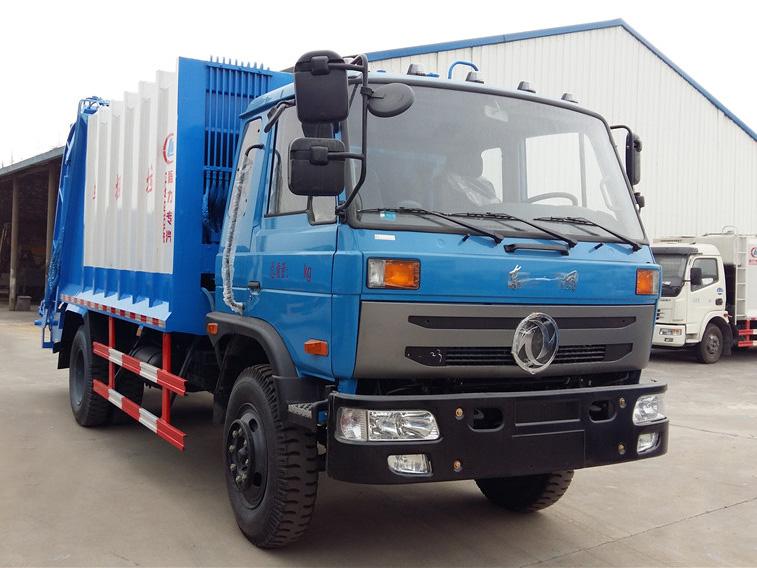 东风145(10方)CLW5160ZYSE5压缩式垃圾车车型简介