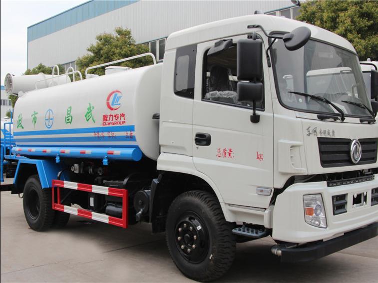 东风专底(12方)CLW5161GSSE5雾炮备用车车型简介