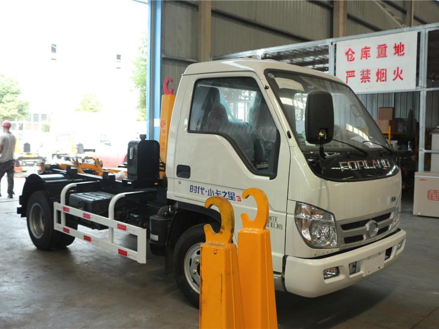 福田小卡(5方)CLW5040ZXXB5车厢可卸式国际车型简介