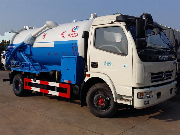 东风大多利卡(7方)CLW5080GXWD5吸污车车型简介