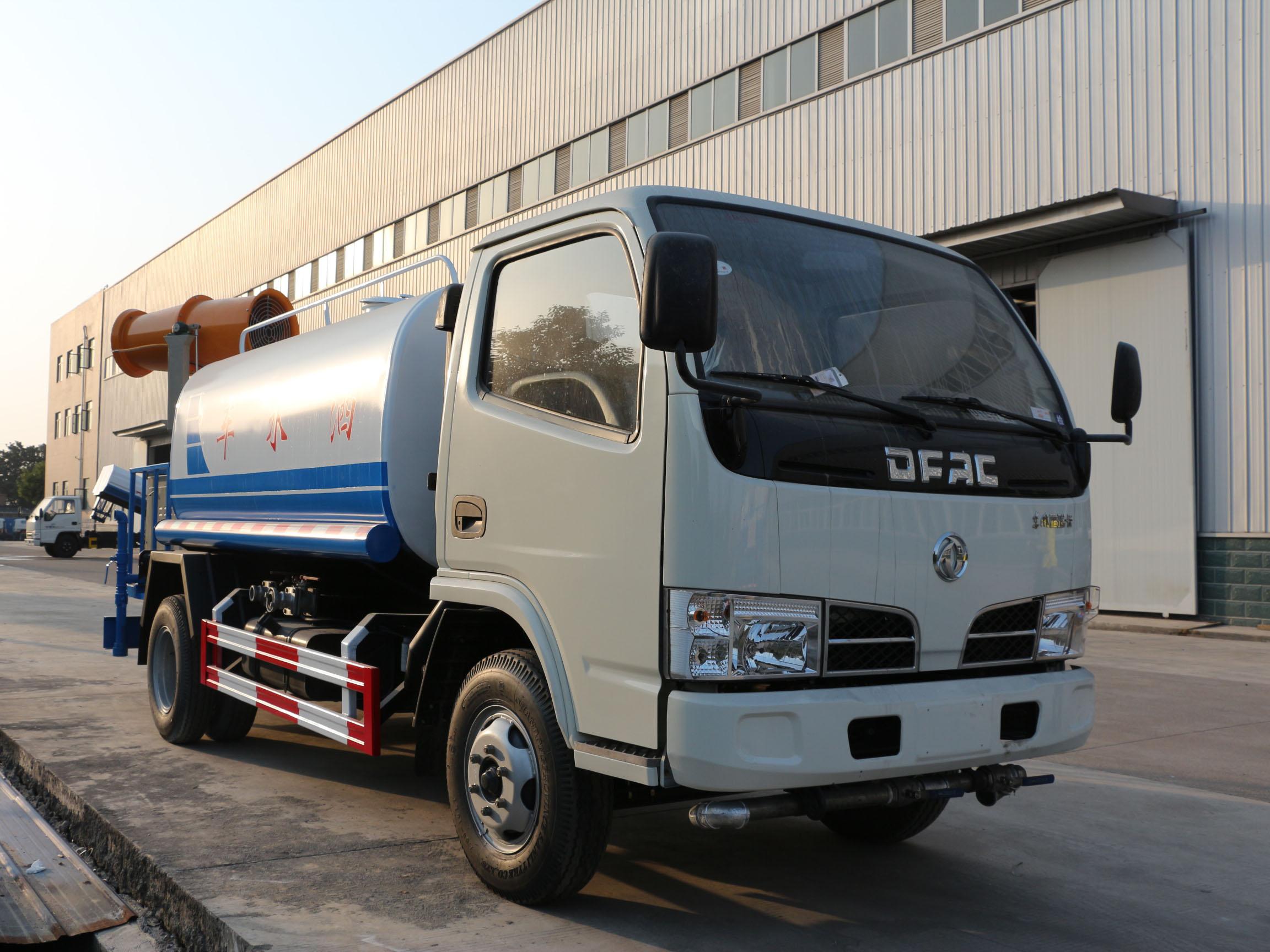 东风多利卡(3方)CLW5071GPSE5型绿化喷洒车车型简介