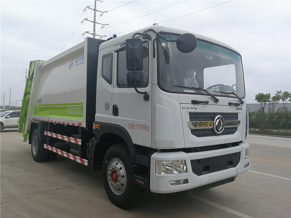东风多利卡D9(10方)CLW5165ZYSD5压缩式国际车型简介
