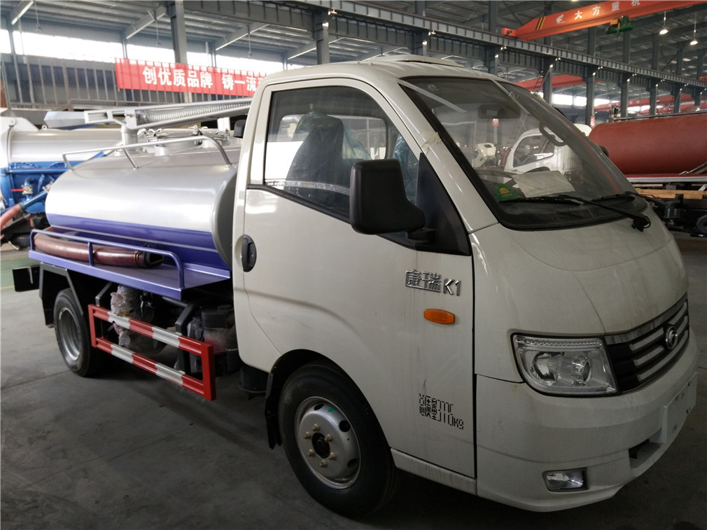 福田康瑞(2方)CLW5040GXEB5吸粪车车型简介