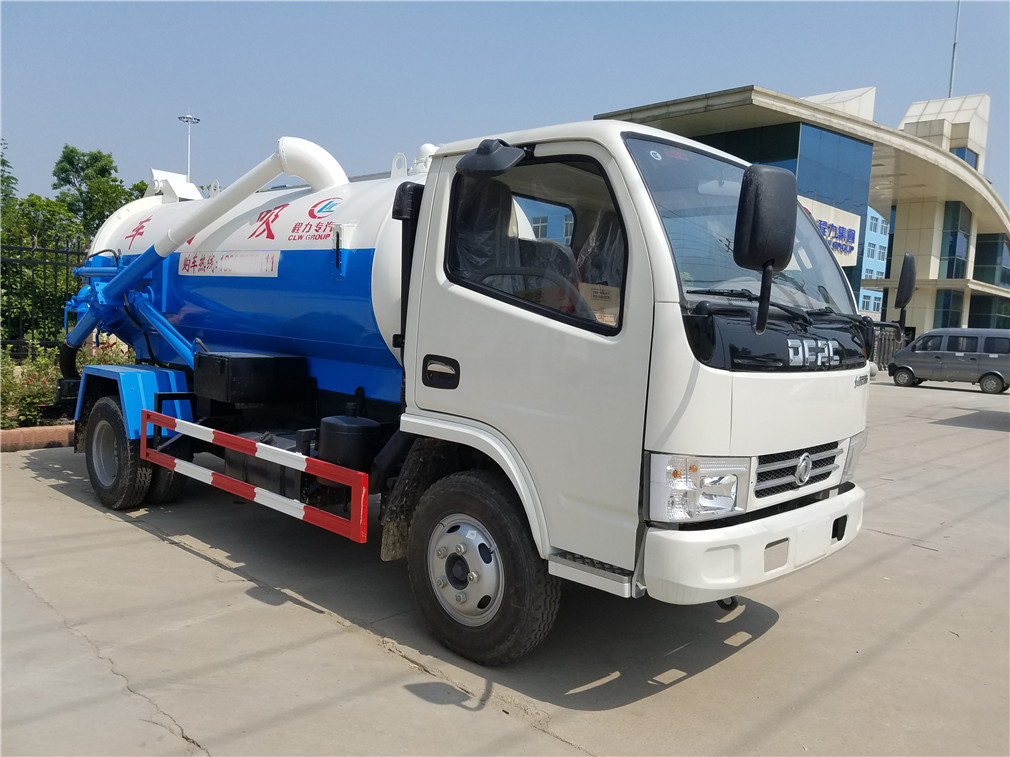 东风多利卡(4方)CLW5070GXWD5吸污车车型简介
