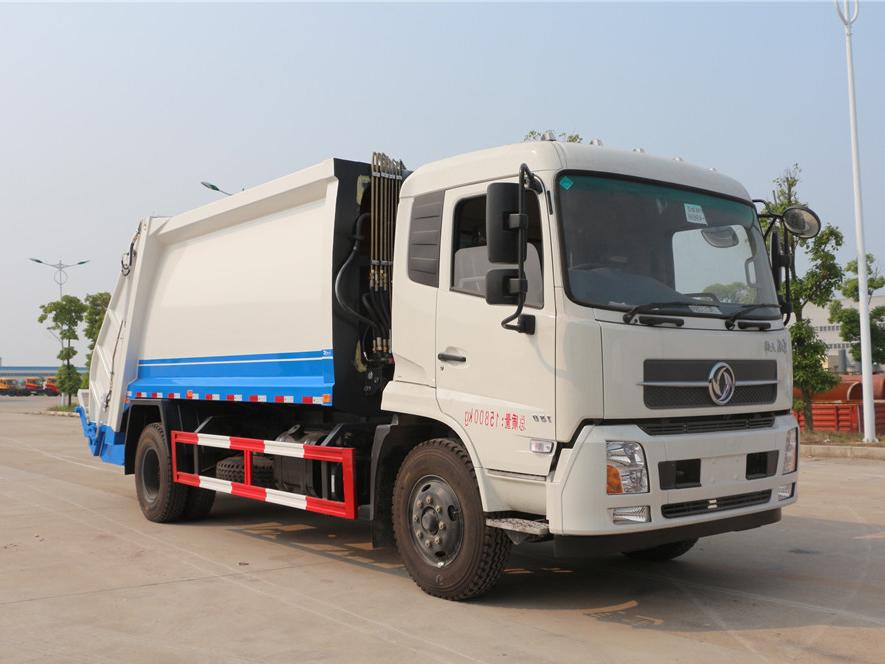 东风天锦(12方)CLW5160ZYSD5压缩式垃圾车车型简介