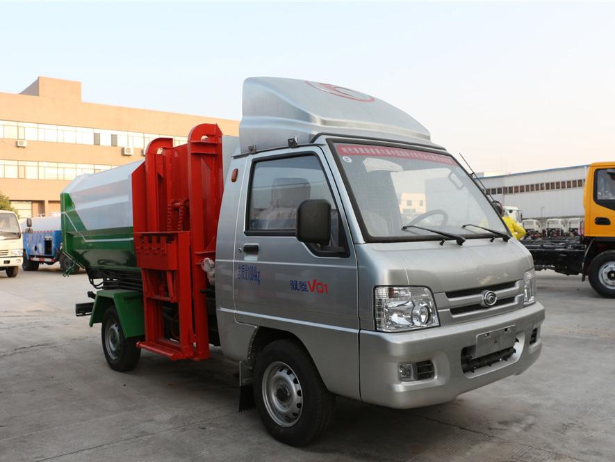福田驭菱(3方)CLW5031ZZZB5挂桶垃圾车车型简介