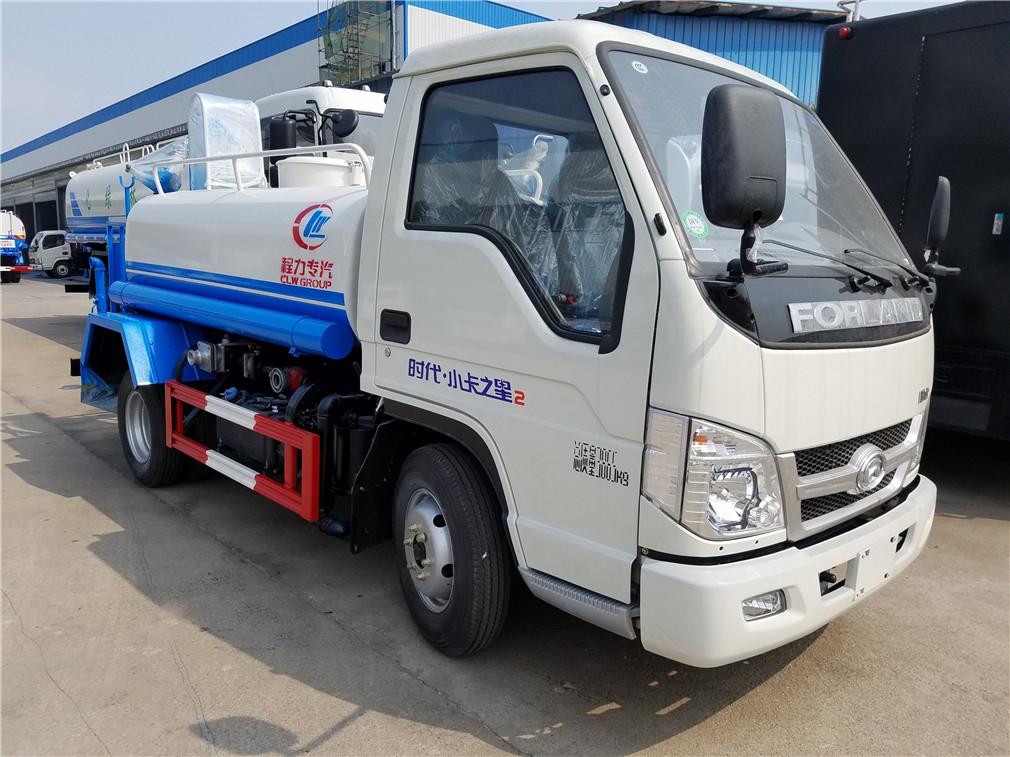 福田小卡(3方)CLW5040GPSB5型绿化喷洒车车型简介