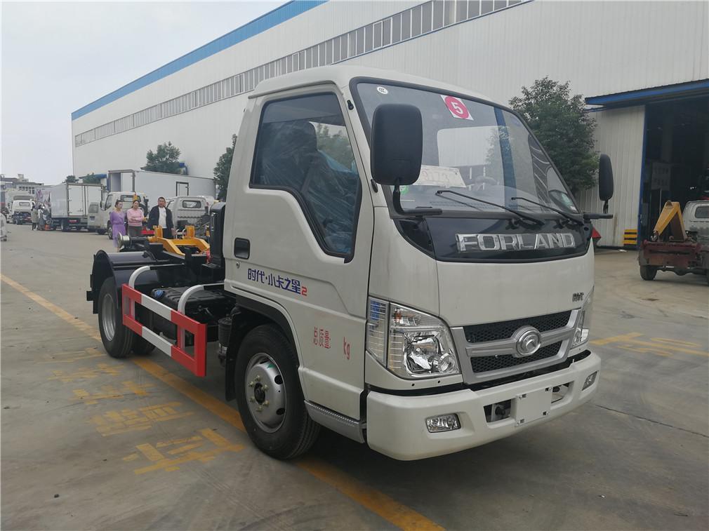 福田小卡(4方)CLW5041ZXXB5车厢可卸式国际车型简介