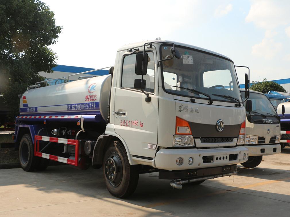 东风嘉运(10方)CLW5140GPSE5型绿化喷洒车车型简介